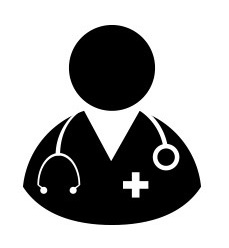 Doctor Icon - Physician, Medical, Healthcare, MD Vector